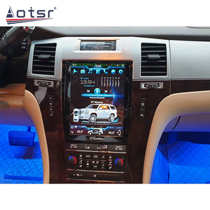 Image 3 - Android 10.0 PX6 6+128GB Car Radio Autoradio For Cadillac Escalade 2007 2012 Touch Screen Carplay DSP Multimedia GPS Navigation