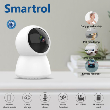 1080P Wifi IP Smart Camera Baby Monitor 360 Angle Night Vision Wireless CCTV Pet Camera Protect Home Security PK Xiaomi image