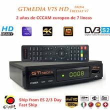 Freesat DVB-S2 V7 Plus HD 1080P With USB WIFI Satellite TV Receiver Gtmedia V7S HD TV Tuner Decoder With Europe Cline
