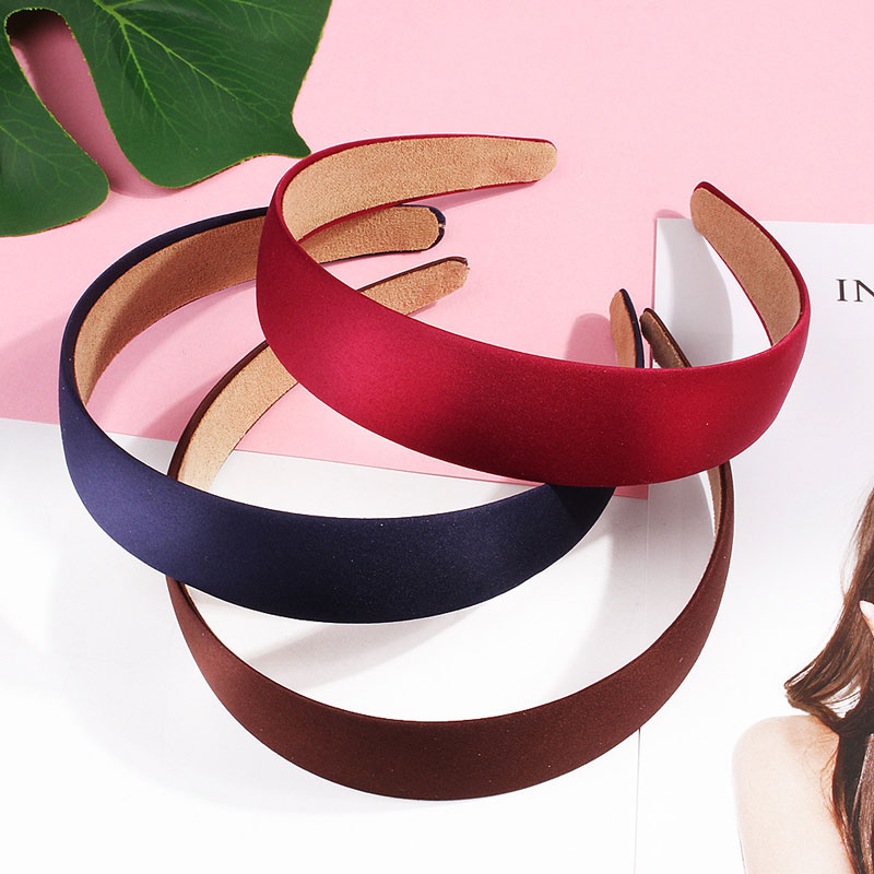 Fashion Women Headbands Wide Solid Color Headbands Elastic High Quality Hair Bands Lovely Gifts For Girls Hair Hoop Accessories
