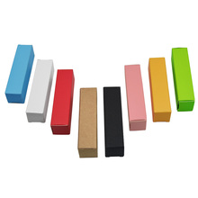 2x2x8.5cm Wedding Gift Lipstick Packaging Paper Box Colourful Kraft Party Decoration Boxes 100pcs/lot