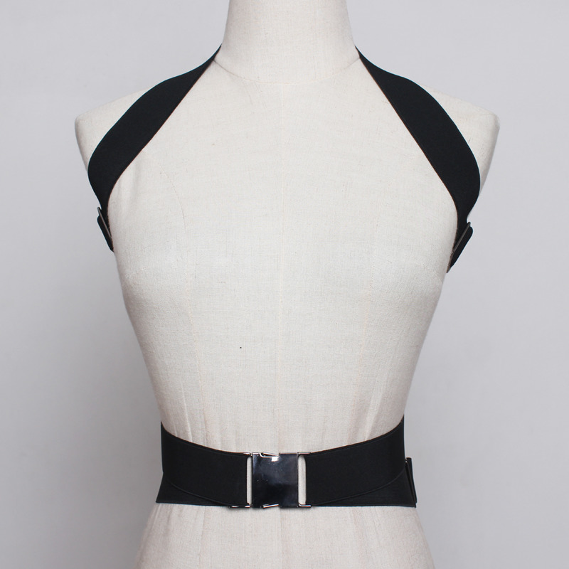 2020 New Design Fashion Corset Belt Female Waistband Tide Belts For Women Stylish Leather Wide Belt Punk Style Strap Belt ZK580