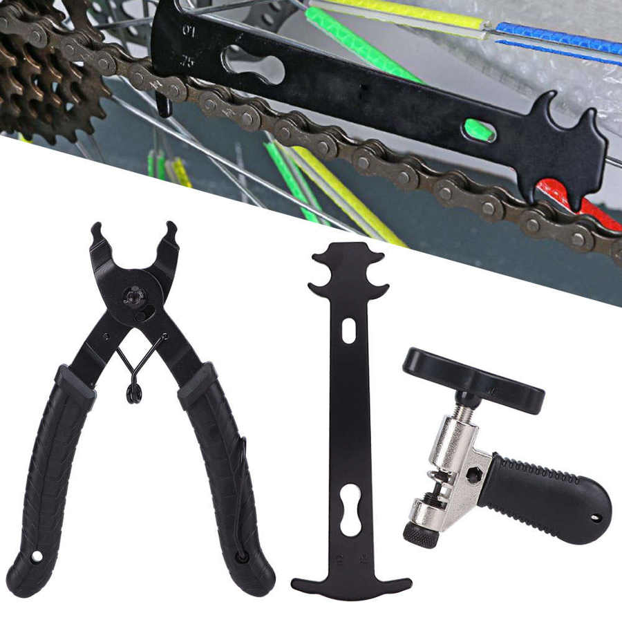 Bike-Chain-Removal-Tool Link-Clamp Repair-Accessories Bicyle Cutting Buckle Stainless-Steel