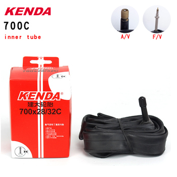 Kenda Bicycle Inner Tube 700*28 32C American valve French valve 700C Butyl Rubber highway Mountain Bike Tire image