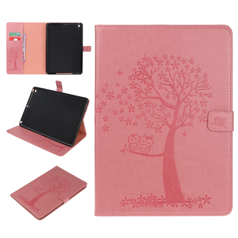 Case Ivory Case For iPad 10 2 inch 2019 Stand Auto Sleep Smart Folio PU Leather Cover For