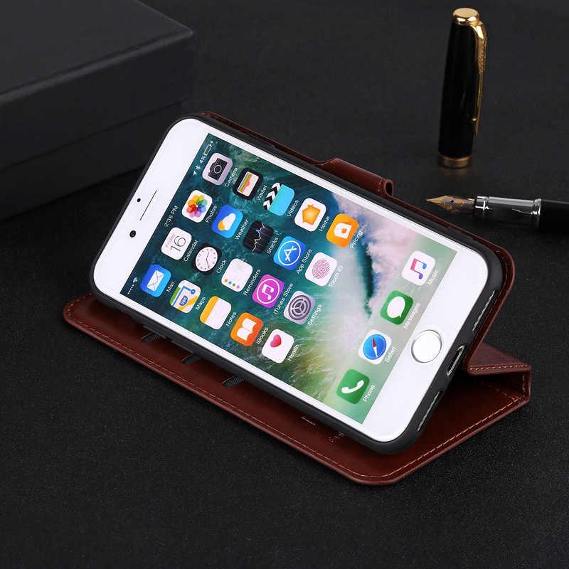 Magnético Funda de cuero para Huawei Mate20 P20 P30 Pro Lite P Smart Plus 2019 Honor10lite cartera Flip Hawei Ericsson P30pro cubierta Etui