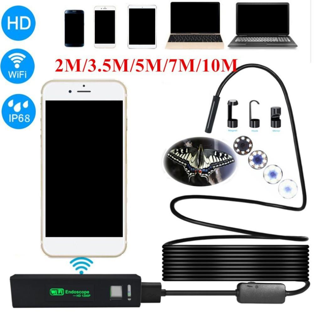 1200P HD Phone Ultra Clear Wireless Phone Endoscope Waterproof Mini Camera Mini Mobile Phone Endoscope
