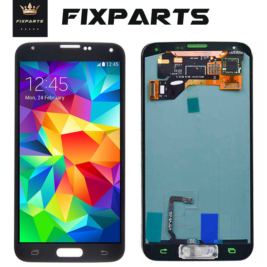 100% Tested For Samsung s5 <font><b>lcd</b></font> <font><b>SM</b></font>-G900 <font><b>SM</b></font>-<font><b>G900F</b></font> G900 With Touch Screen Digitizer Assembly for Samsung Galaxy S5 Mini G800 G800F image