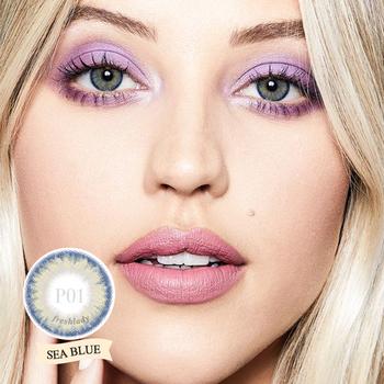 [Fresh Lady] 1 para (2 szt ) seria Pro piękne kolorowe soczewki kontaktowe dla oczu kolorowe soczewki kolorowe soczewki kolorowe szkła kontaktowe tanie i dobre opinie CN (pochodzenie) 14 2 Dwa Kawałki 0 06-0 15mm NVP HEMA Piękne Uczeń yearly 1 year -0 00 to -8 00