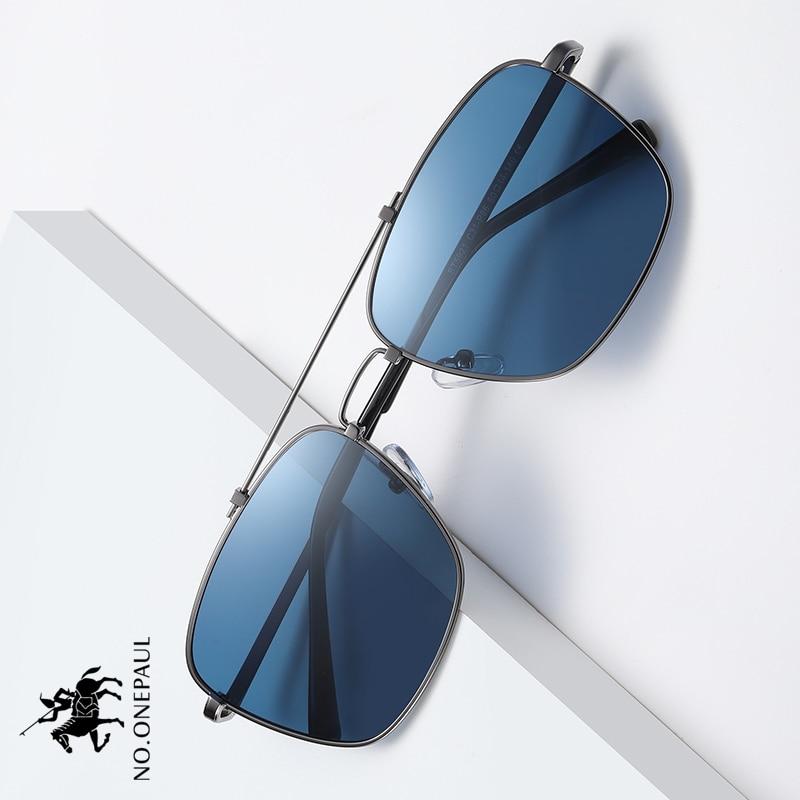 NO.ONEPAUL Polarized Sun Glasses Retro Vintage Goggles Women Fashion UV400 Driving Eyewear NEW Square Sunglasses Men