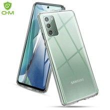 Luxus Transparent Telefon Fall Für Samsung Galaxy note 20 5G Klar TPU Stoßstange mit Scratch proof harte rückseitige abdeckung für note20 Ultra