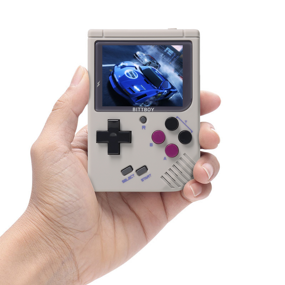 New BittBoy V3 5 Video Game Console Retro Handheld Save Load Game Console Preload Steward System