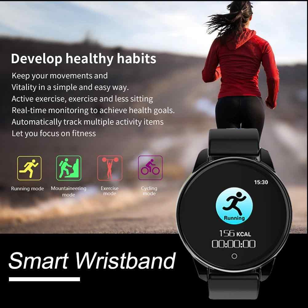 כושר גשש ספורט שעון M4 חכם צמיד IP67 עמיד למים מונה לב שיעור לחץ דם ניטור בריאות תזכורת