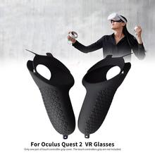 Grip-Cover Vr-Glasses Touch-Controller 1pair-Handle Oculus Quest Soft for 2/shockproof