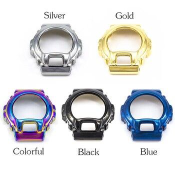 DW6900 Watch Case Bezel 100%Stainless Steel Frame Bracelet Unique Watch Accessories