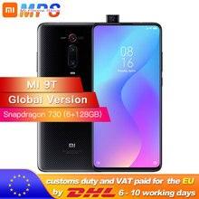 """הגלובלי גרסה Mi 9T (אדום mi K20) 6GB 128GB Smartphone Snapdragon 730 48MP אחורי מצלמה מוקפץ מול מצלמה 6.39 """"AMOLED"""