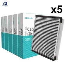 5x Car Pollen Cabin Air Filter For Hyundai Accent Elantra i30 Kia Carens Ceed 2011 2012 2013 2014 2015 97133 1E000 97133 1E100