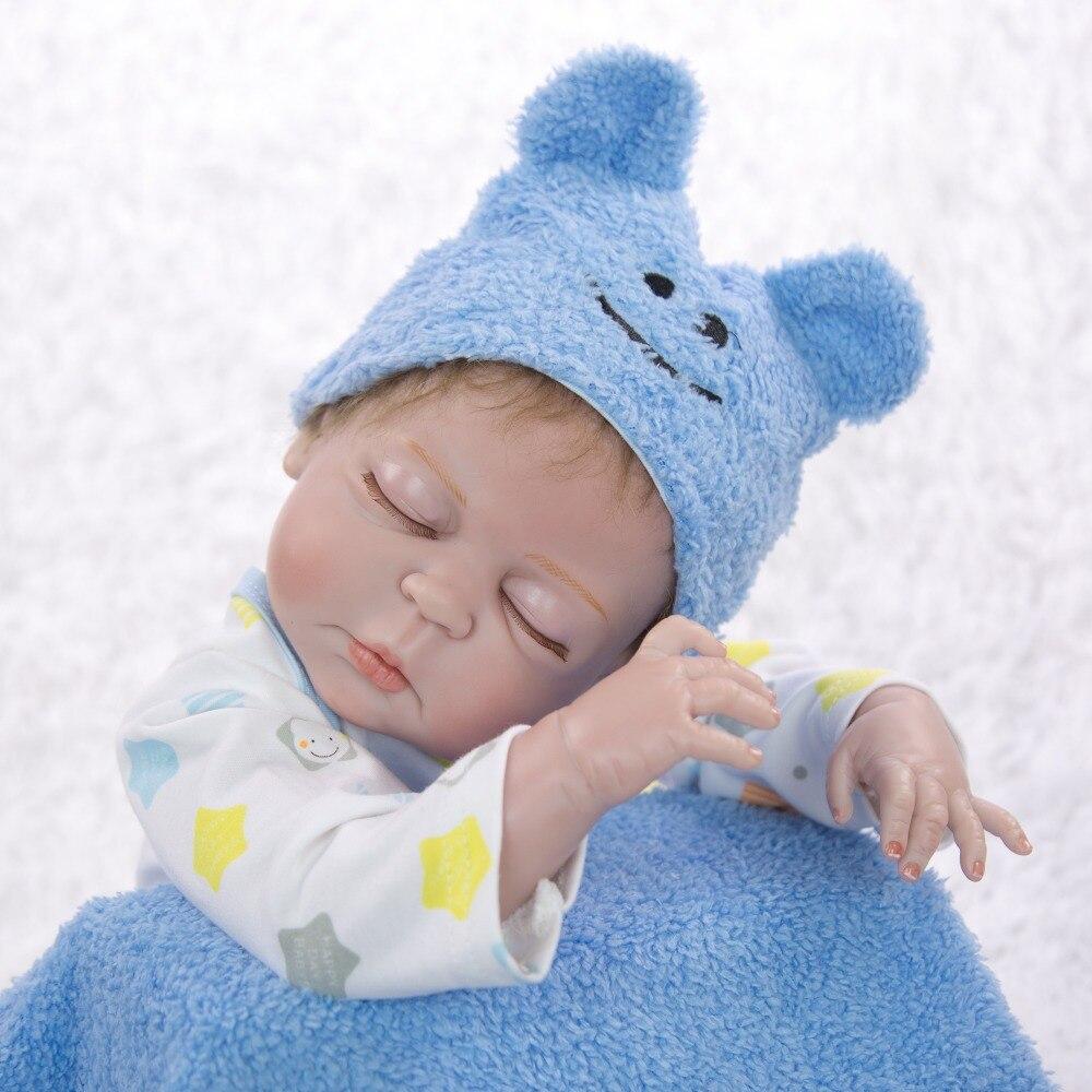 57CM bebes Reborn poupées réaliste nouveau-né bébé garçon poupée doux corps complet silicone Boneca poupée lol poupée cadeau de noël