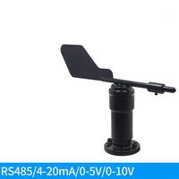 Wind Direction and Wind Speed Sensor Transducer Wind Direction Instrument Wind Cup RS485 Meteorological Station 4 20mA|Air Conditioner Parts| |  -