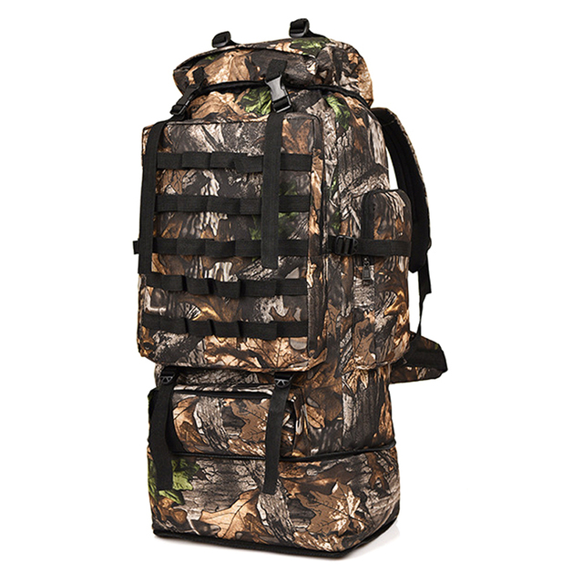 Outdoor Training Hunting Backpack Molle Bug-out Bag Survival Range Bag 100L B1O6