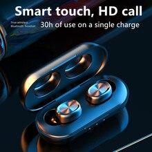 NEW B5 Bluetooth5.0 Earphone Wireless Earbuds Fingerprint Touch Earpieces wirele