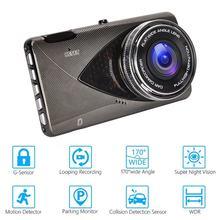 1080p hd Автомобильный видеорегистратор Камера с двумя объективами