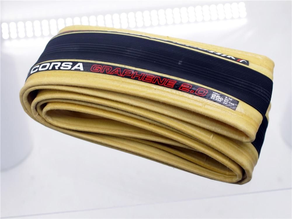 Vittoria Corsa G Competition 700 x 25 Black Tan 320 TPI Road Bike Clincher Tire