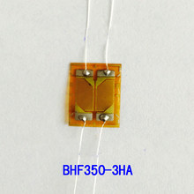 2PC BHF350-3HA precisione half bridge lo stress di coppia di taglio estensimetri strain gauge 350ohm Coppia strain gauge(China)