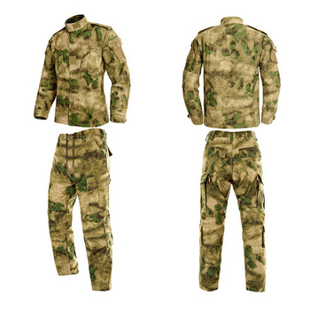 HAN WILD Military Uniform Jungle Camouflage Combat Airsoft Tactical Jacket Pants Clothing Set ACU CP Army Suit Dropshipping 5