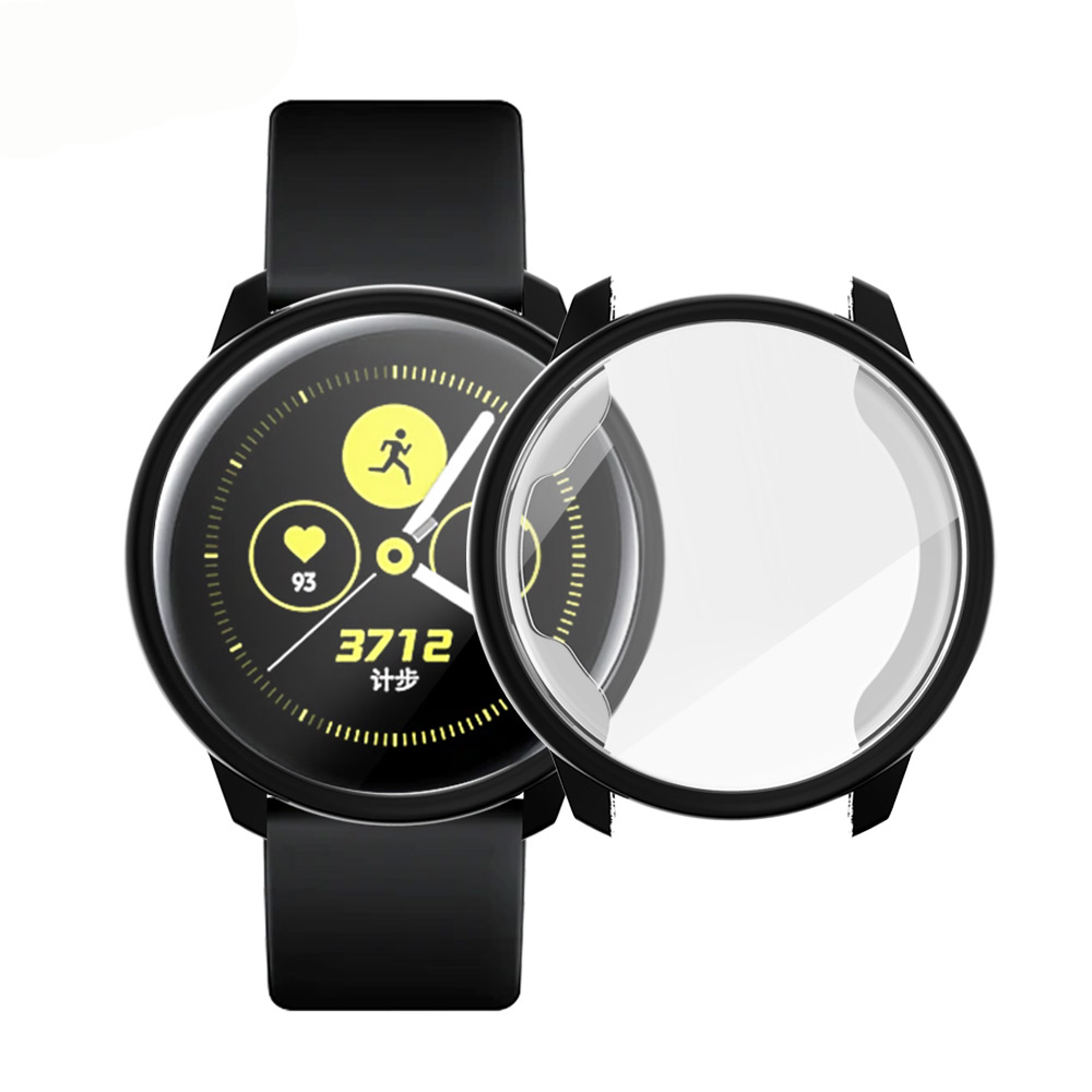 All-round Protection Case For Samsung Galaxy Watch Active Bumper TPU Soft Silicone Screen Protection Cover Accessories