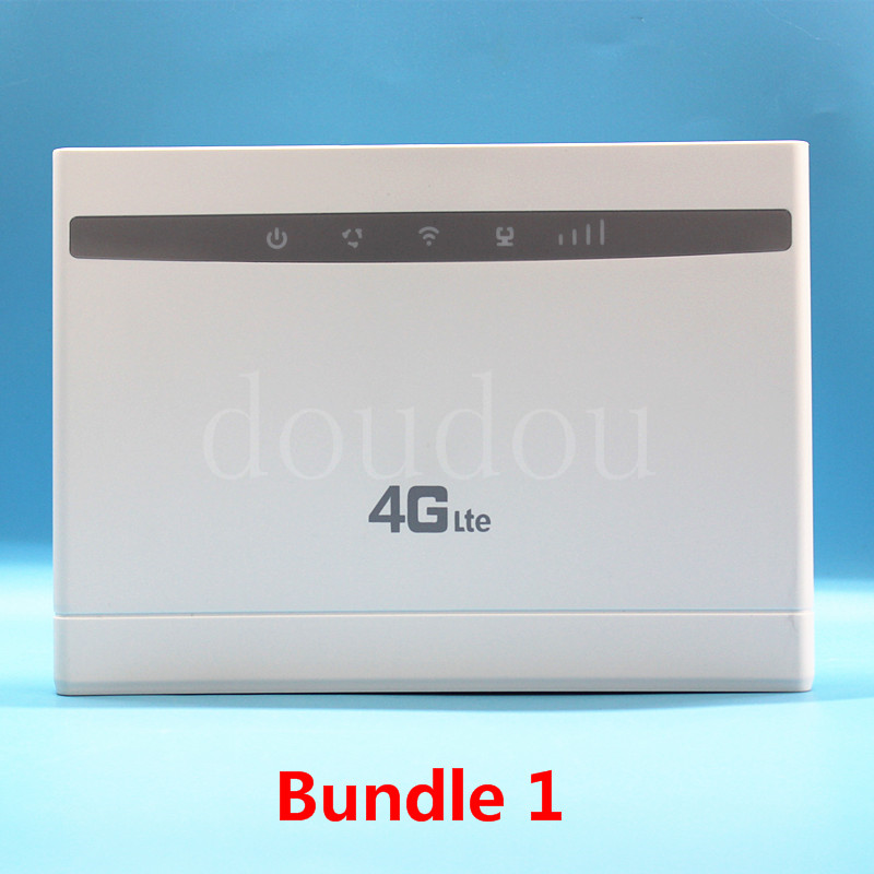US $51.84 15% OFF|Unlocked 4G OEM Wireless Router 4G LTE 100Mbps CPE WIFI ROUTER Modem with Sim Card Slot with Antenna PK B315,B593,B525,E5186|3G4G