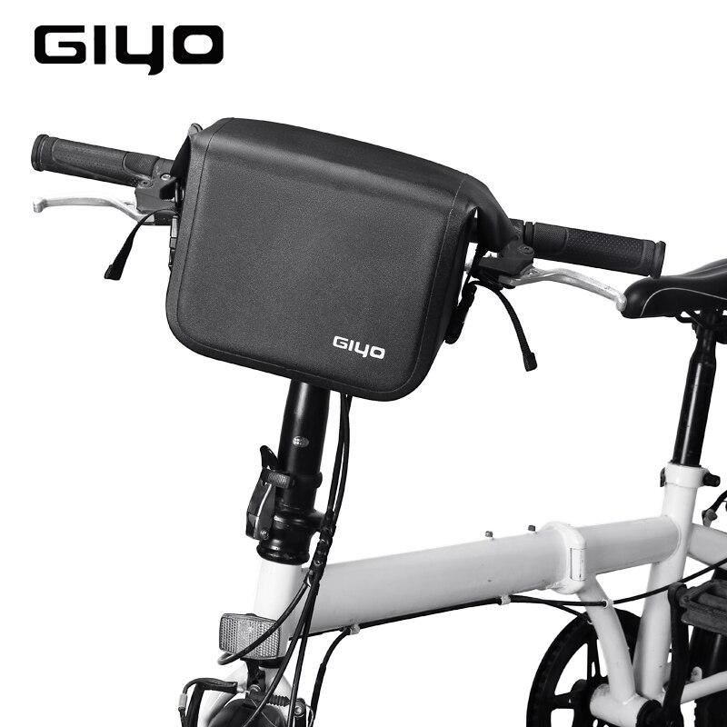 NEW Cycling Bicycle Bike Handlebar Front Tube Pannier Rack Bag Basket Waterproof