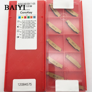 Image 5 - 10pcs N123H2 0400 0004 TF 4225 Carbide insert grooving indexable slotted insert CNC lathe cutting tools