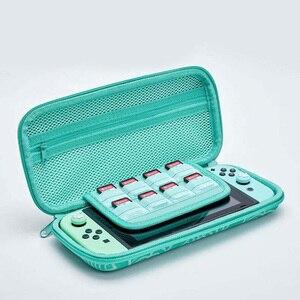 Image 4 - Twarda skorupa uchwyt na karty zwierząt przejście torba podróżna konsola schowek na Nintendo Switch NS Lite pokrowiec ochronny