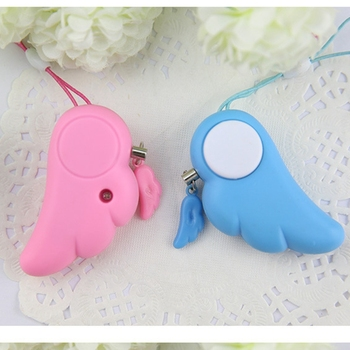 Self Defence Keychain Alarm Personal Protection Women Security Rape Alarm 90dB Loud Self Defense Supplies Emergency Alarm image
