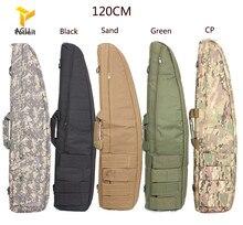 HANWILD Multicam 120cm Gun Rifle Bag Outdoor Tactical Carrying Bags Military Gun Case Shoulder Pouch For Airsoft Shooting Painti стоимость