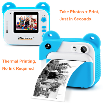 Детский фотоаппарат с печатью Prograce 3