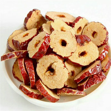 Chinese herbal medicine, dried red date rings, golden silk date rings, grey date rings, dried red dates, can be beaten to make t
