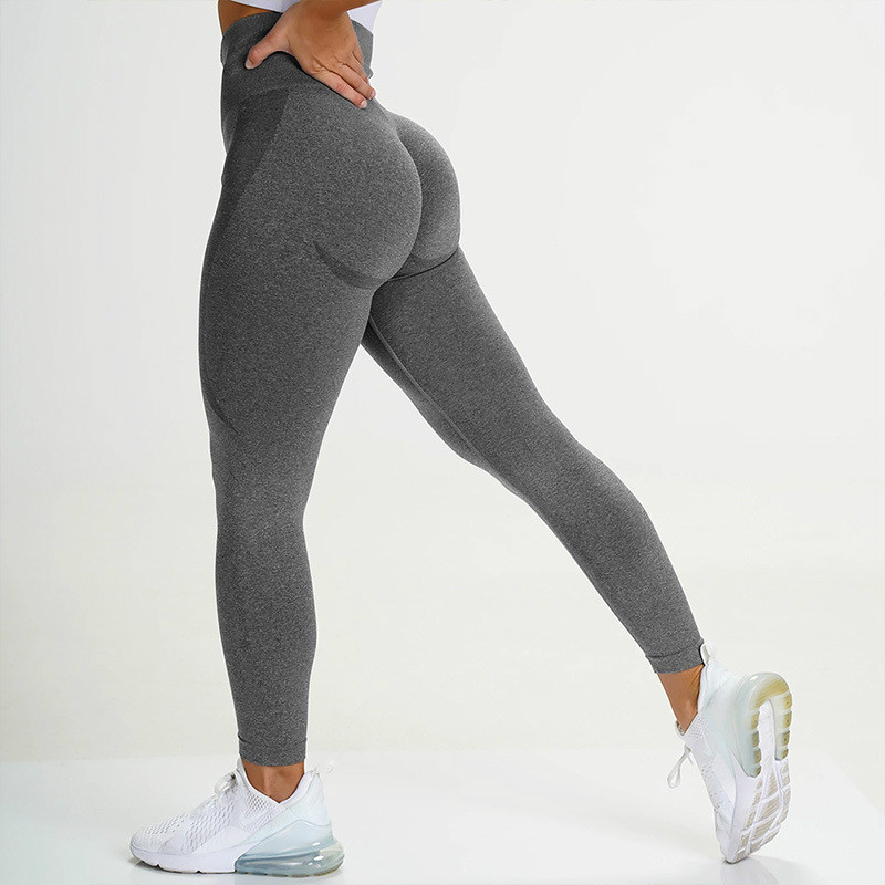 NCLAGEN Women Seamless Squat Proof Leggings High Waist Yogaing Pants Capris Gyms Butt Lift Leggins Workout Nylon Legging Biker