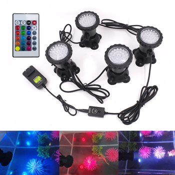 LED Underwater Lights Waterproof IP68 RGB Lamp 12V Spot Light for Swiming Pool Garden Fountains Pond Water Fish Tank Aquarium 12v led underwater light waterproof rgb underwater lamp swiming pool garden fountains pond water fish tank aquarium spot lights