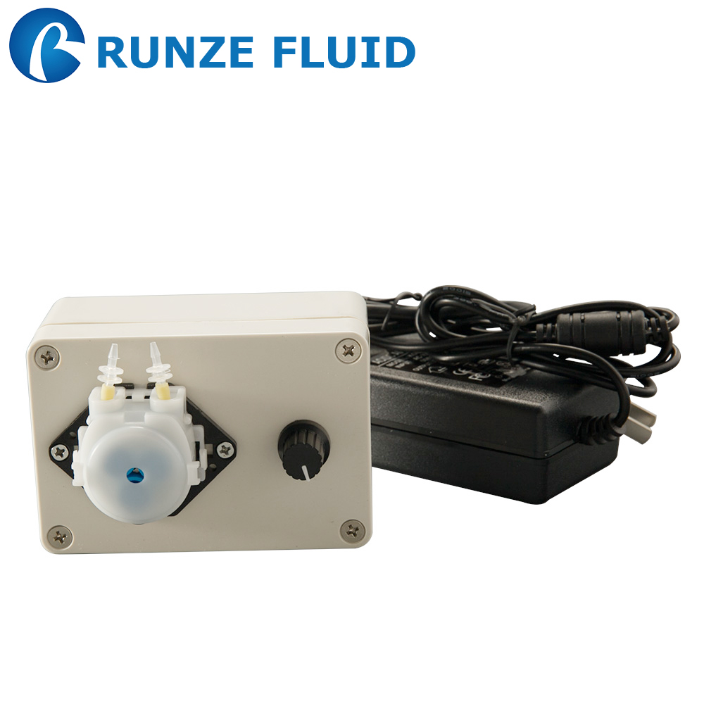 Low Cost Mini Chemical Peristaltic Pump 220V Speed Adjustable Silicone Rubber Tubing