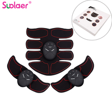 Dropshipping Electric Muscle Stimulator EMS Trainer Wireless Abdominal ABS Stimulator Fitness Body Slimming Massager Unisex