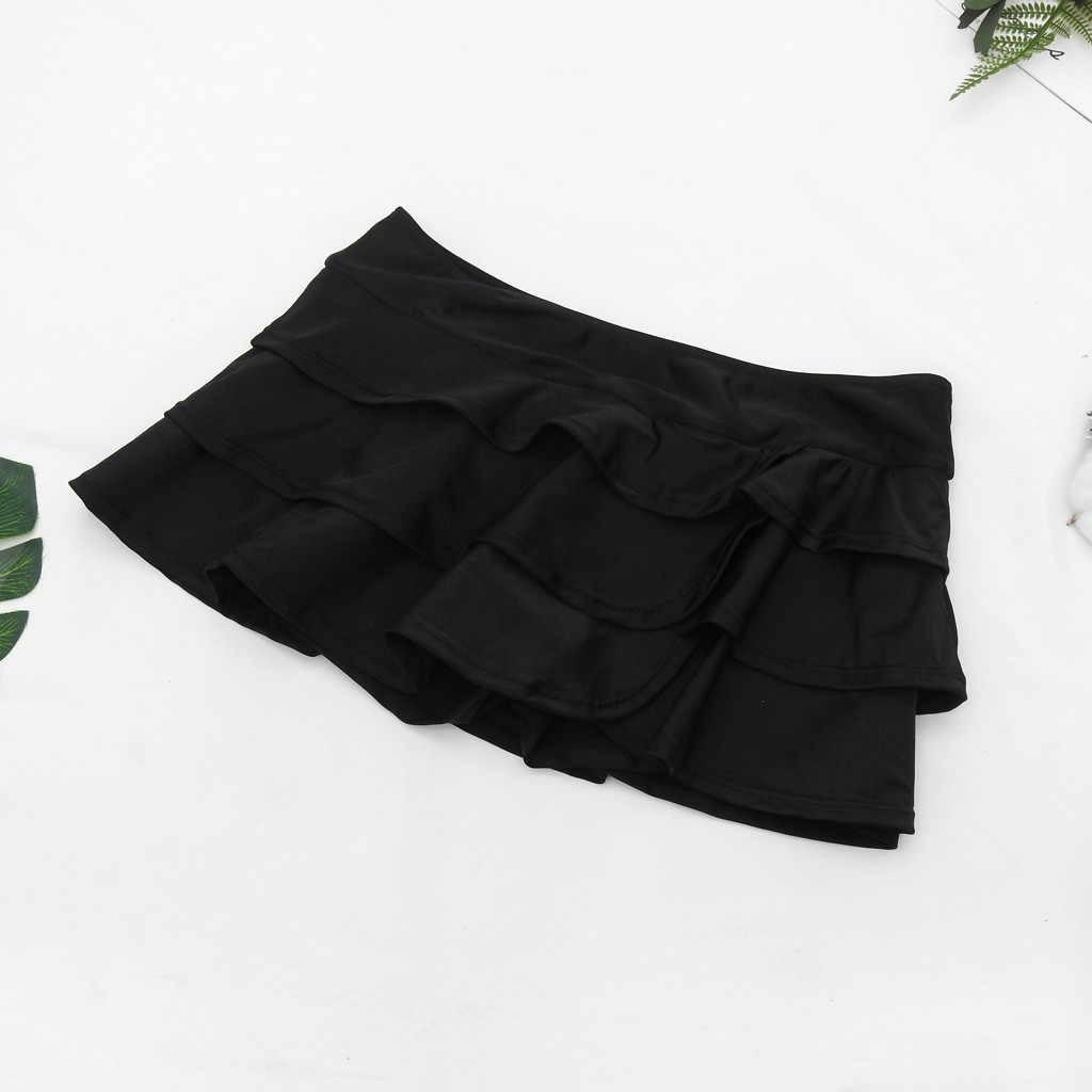 ملابس سباحة نسائية مثيرة قصيرة سفلية بكيني مناسب للصيف بخصر عالٍ ملابس سباحة سروال سباحة قصير للشاطئ # YL5