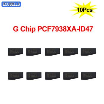10 sztuk partia klucz samochodowy Chip wysokiej jakości PCF7938XA ID47 PCF7938 7938XA 7938 Chip G Chip klucz samochodowy Transponder Chip tanie i dobre opinie ecusells without CN (pochodzenie) Good