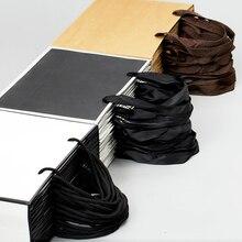 10 個大白とクラフト紙包装袋衣服のギフト紙袋ハンドル小さな黒紙ショッピングバッグ