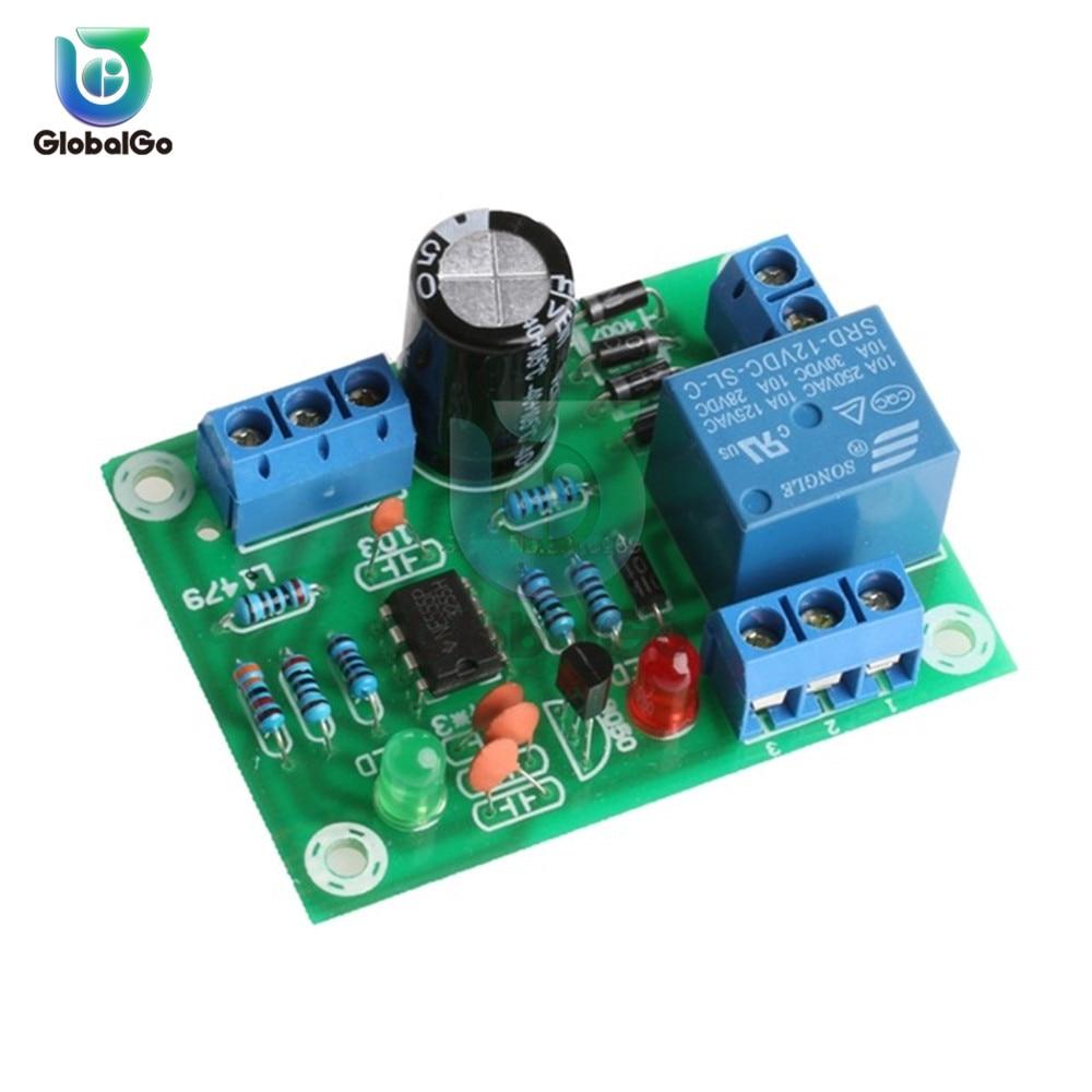 DC 12V Water Liquid Level Controller Sensor Module DIY Water Level Detection Flow Sensor Switch Module