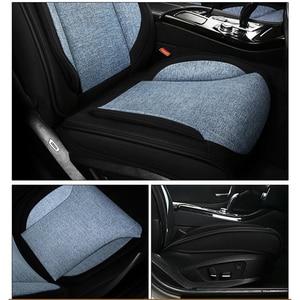 Image 5 - Deluxe universal flax car seat cover For ssangyong kyron korando actyon rexton for suzuki jimny sx4 baleno grand vitara car seat