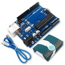 Для UNO R3 MEGA328P ATMEGA16U2 макетная плата с usb-кабелем для Arduino стартовый комплект с розничной коробкой