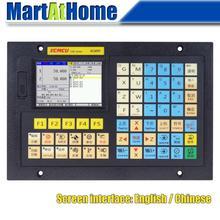 XC609T 2 Achse USB CNC Control System G code Unterstützung Äußere Kreis, Ende Gesicht, Slot, kegel, Arc, Gewinde, Tippen, Tiefe Loch Bohren