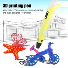 Creative Children'S Drawing 3D Printing Pen 3D Printing Pen Educational Toy Painting 3D Pen Children'S Day Gift